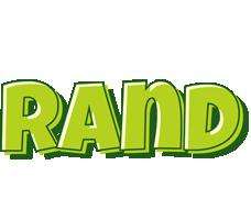 Rand summer logo