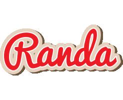 Randa chocolate logo