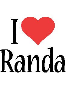 Randa i-love logo