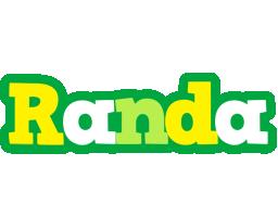 Randa soccer logo
