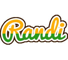 Randi banana logo