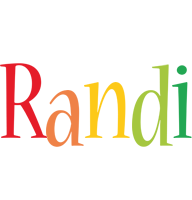 Randi birthday logo