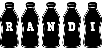 Randi bottle logo