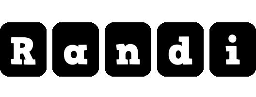 Randi box logo