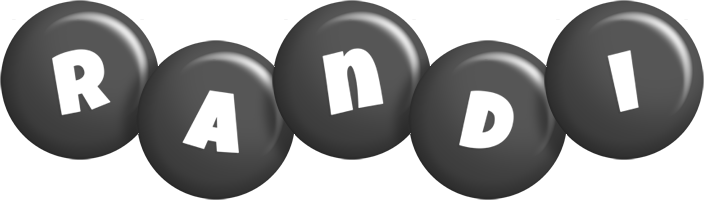 Randi candy-black logo