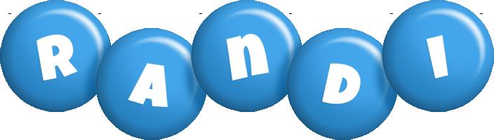 Randi candy-blue logo