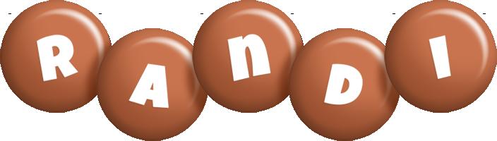 Randi candy-brown logo