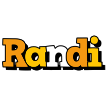 Randi cartoon logo
