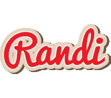 Randi chocolate logo