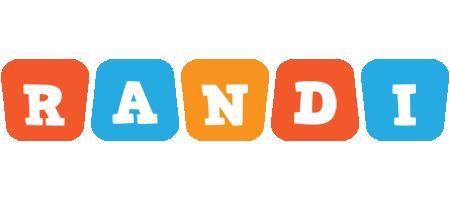 Randi comics logo