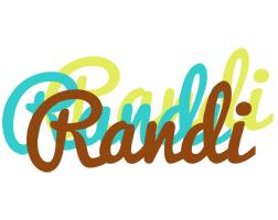 Randi cupcake logo
