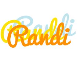 Randi energy logo