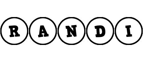 Randi handy logo