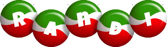 Randi italy logo