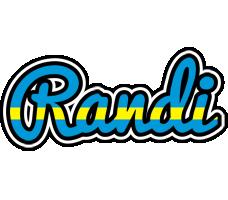 Randi sweden logo