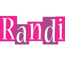 Randi whine logo