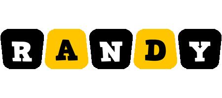 Randy boots logo