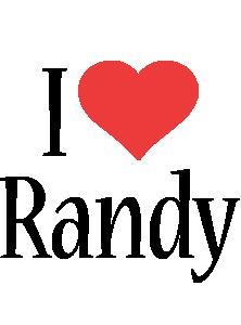 Randy i-love logo
