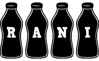 Rani bottle logo