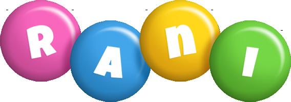 Rani candy logo