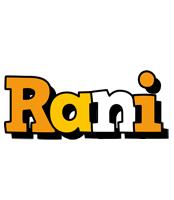 Rani cartoon logo