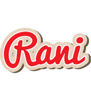 Rani chocolate logo