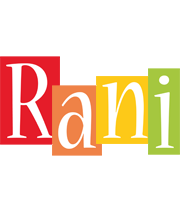 Rani colors logo