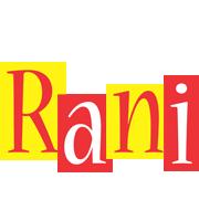 Rani errors logo