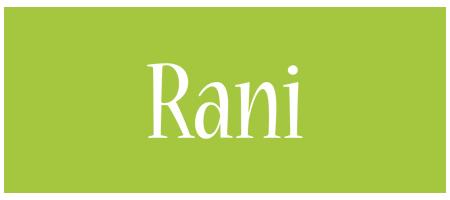 Rani family logo