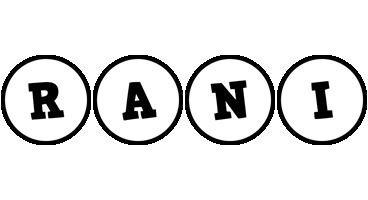 Rani handy logo