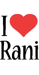 Rani i-love logo