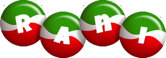 Rani italy logo
