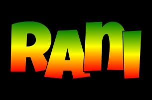 Rani mango logo