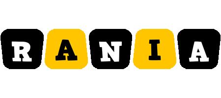 Rania boots logo