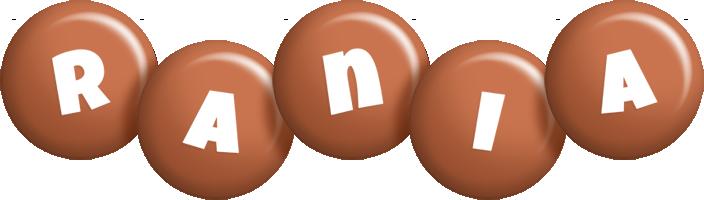 Rania candy-brown logo