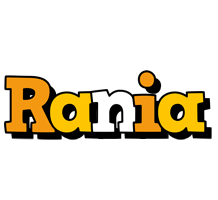 Rania cartoon logo