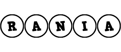 Rania handy logo