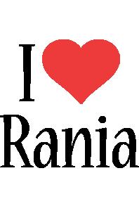 Rania i-love logo
