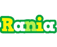 Rania soccer logo
