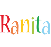 Ranita birthday logo