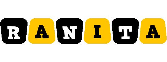 Ranita boots logo