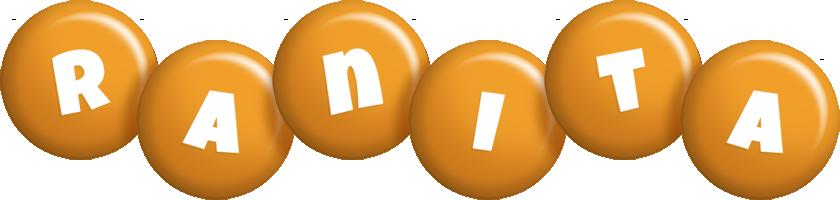 Ranita candy-orange logo
