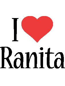 Ranita i-love logo