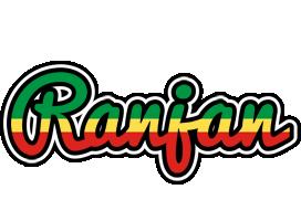 Ranjan african logo
