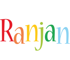 Ranjan birthday logo
