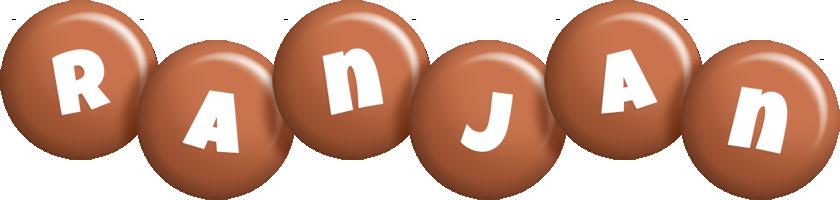 Ranjan candy-brown logo