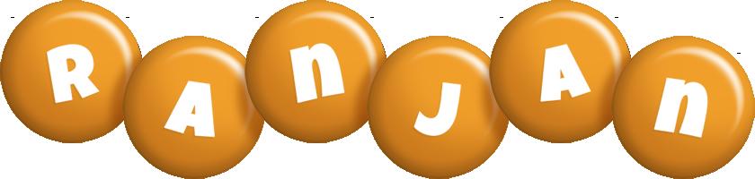 Ranjan candy-orange logo