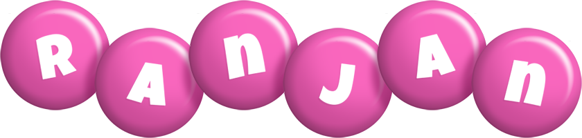 Ranjan candy-pink logo