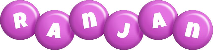 Ranjan candy-purple logo