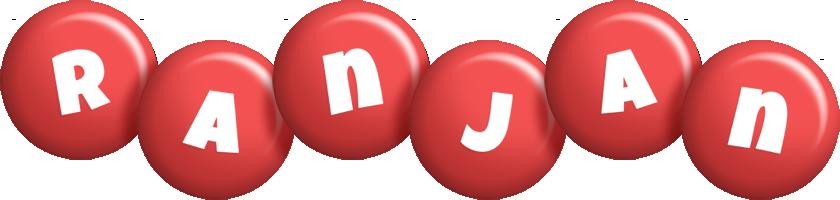 Ranjan candy-red logo